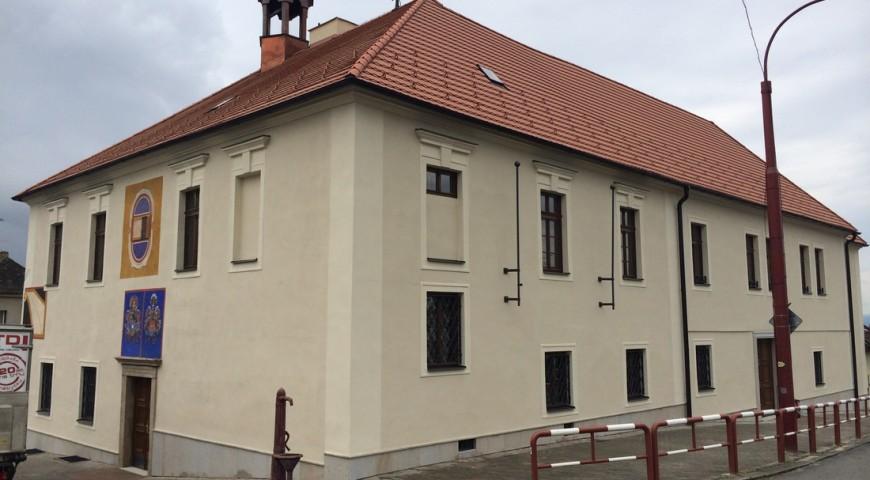 Rekonstrukce fasády muzea Rudolfov