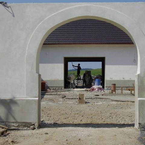 Rekonstrukce objektu v obci Topělec