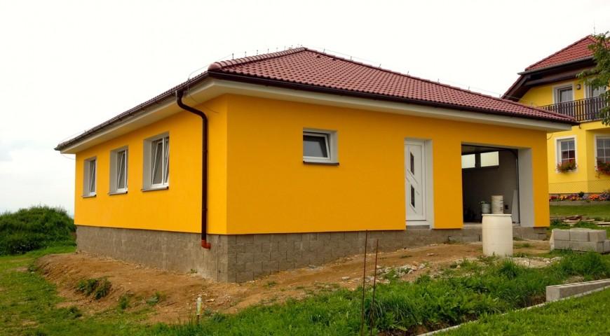 Zateplení rodinného domu v obci Vráto u Českých Budějovic
