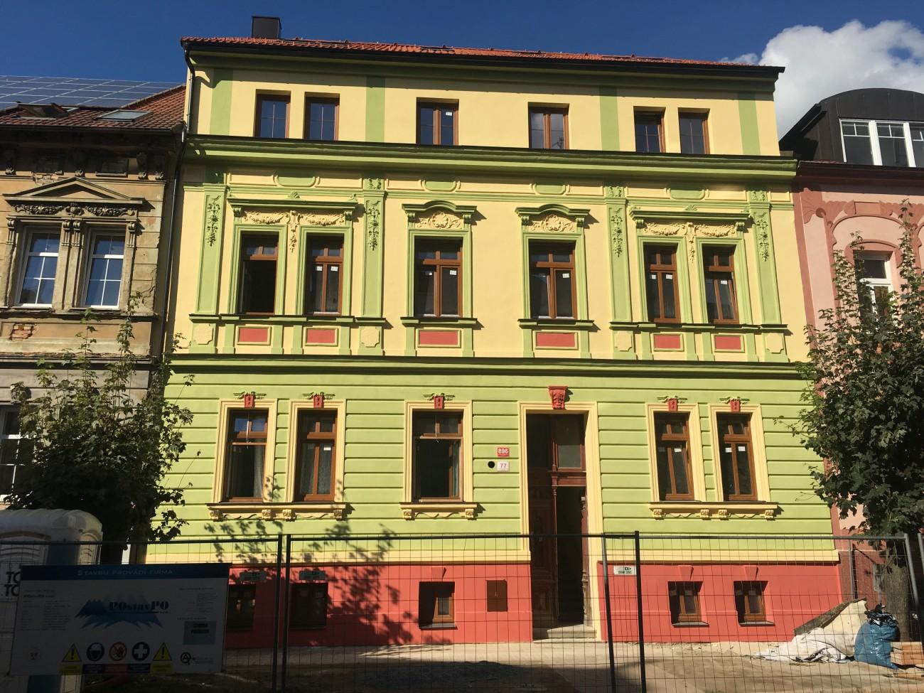 Rekonstrukce fasády České Budějovice